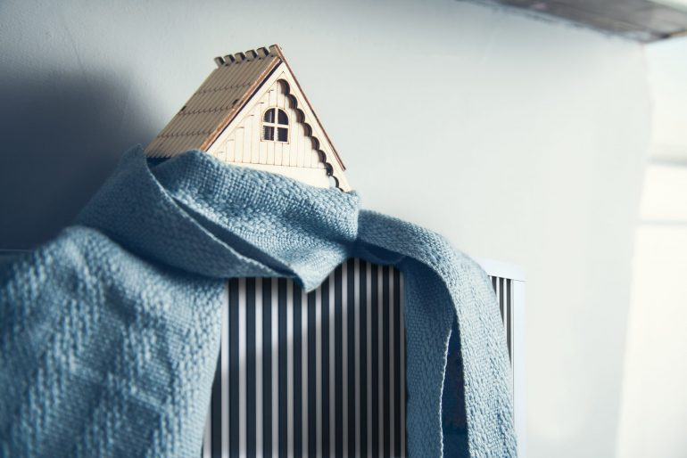 scarf and house on Heating System